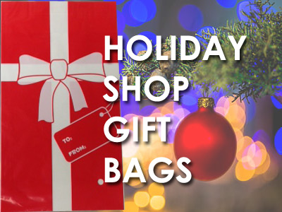 Holiday Gift Bags for School Gift Shop Wrapping