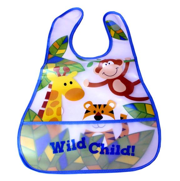 Wild Kid Pocket Baby Bib - Baby Gifts - Santa Shop Gifts