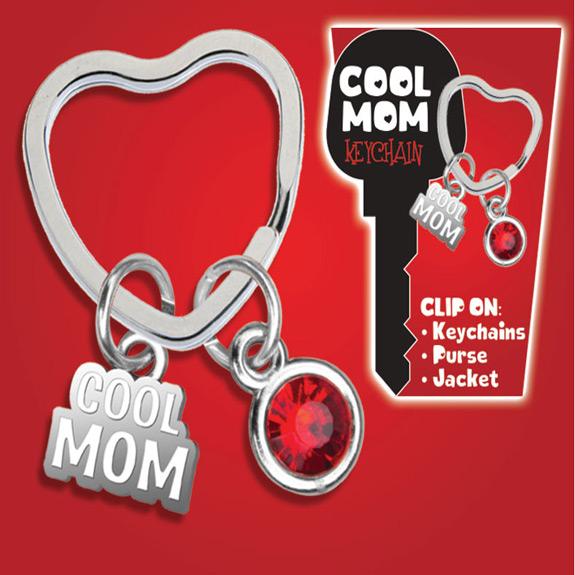 Cool Mom Key Chain