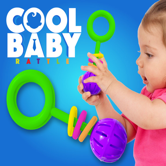 Cool Baby Rattle