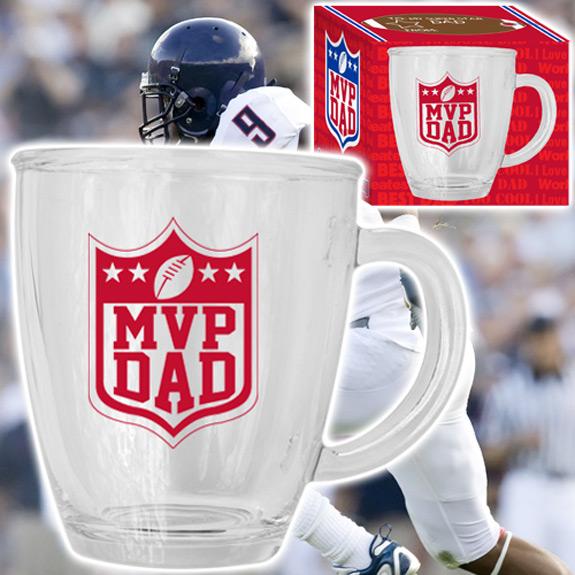 MVP Dad Glass Mug