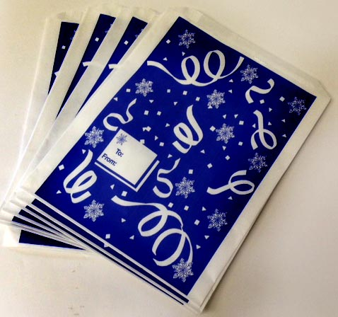 Medium Paper Holiday Shop Gift Bags