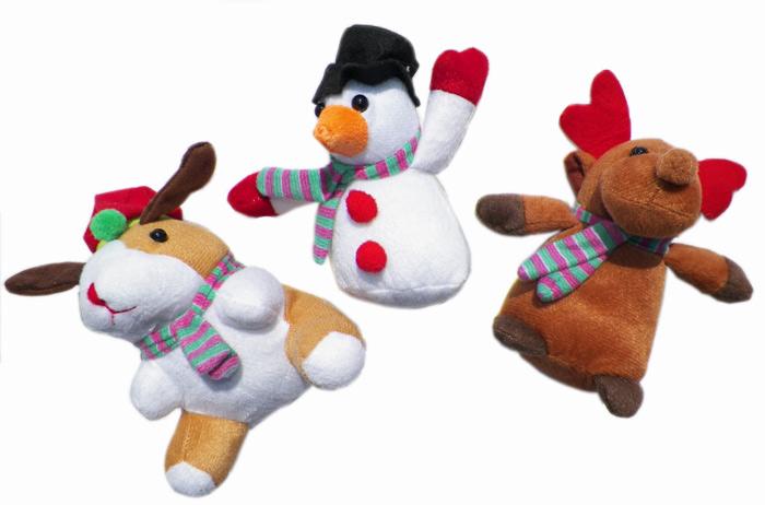 Holiday Plush 5.5 Inch - Plush Gifts - Santa Shop Gifts