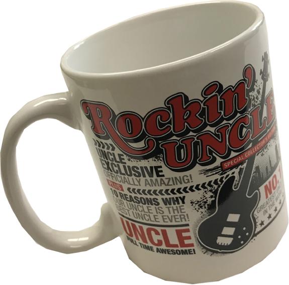 Rockin Uncle Mug - Uncle Gifts - Santa Shop Gifts