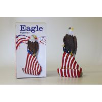 American Eagle Cell Phone Holder Figurine - Gifts For Everyone Else - Santa Shop Gifts