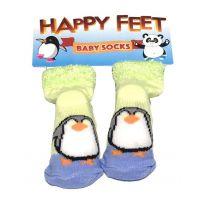 Happy Feet Baby Socks - Baby Gifts - Santa Shop Gifts