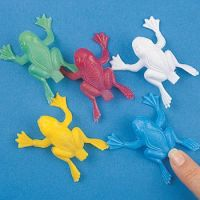 Plastic Jumping Frogs - Gifts For Boys & Girls - Santa Shop Gifts