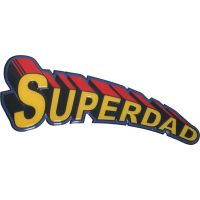 Super Dad Sign - 18 Inch - Dad Gifts - Santa Shop Gifts