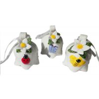 Floral Bell Ornament 2.5 Inch - Gifts For Women - Santa Shop Gifts