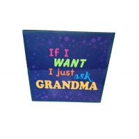 Grandma Ceramic Plaque - Grandma Gifts - Santa Shop Gifts