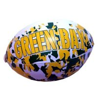 Green Bay Vinyl Camouflage Football - 6 Inch - Sports Team Logo Gifts - Santa Shop Gifts