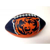 Chicago Bears NFL 7 in. Logo Football - Sports Team Logo Gifts - Santa Shop Gifts