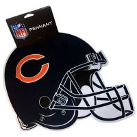 Chicago Bears Sports Team Helmet Pennant - Sports Team Logo Gifts - Santa Shop Gifts