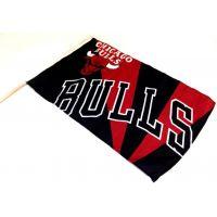 Team Flag on Stick - Bulls - Sports Team Logo Gifts - Santa Shop Gifts
