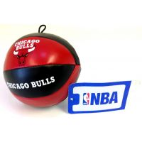 NBA Vinyl Basketball - Bulls - Sports Team Logo Gifts - Santa Shop Gifts