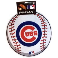 Chicago Cubs MLB Ball Pennant - Sports Team Logo Gifts - Santa Shop Gifts