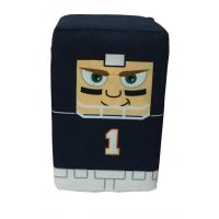 Chicago Football Player Stackable Plush - Sports Team Logo Gifts - Santa Shop Gifts