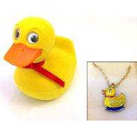Duck Pendant - Jewelry Gifts - Santa Shop Gifts