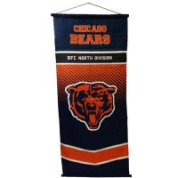 Chicago Bears NFL Team Banner - Sports Team Logo Gifts - Santa Shop Gifts