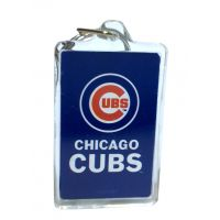 Chicago Cubs MLB Acrylic Keychain - Sports Team Logo Gifts - Santa Shop Gifts