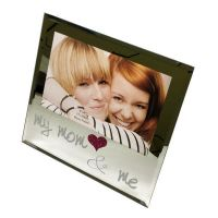 Mom and Me Mirror Picture Frame - Mom Gifts - Santa Shop Gifts