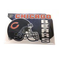 NFL Button Pin - Chicago Bears - Sports Team Logo Gifts - Santa Shop Gifts