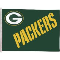 Green Bay Packers Banner Flag - Sports Team Logo Gifts - Santa Shop Gifts