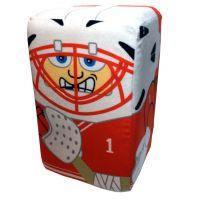 Chicago Hockey Player Stakz Plush - Sports Team Logo Gifts - Santa Shop Gifts
