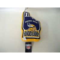 Minnesota Vikings Vinyl No 1 Hand - Sports Team Logo Gifts - Santa Shop Gifts