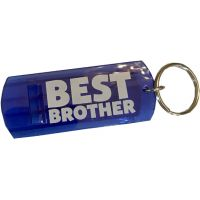 Best Brother Whistle Key Chain - Brother Gifts - Santa Shop Gifts