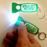 Best Uncle Flashlight Key Chain - Uncle Gifts - Santa Shop Gifts