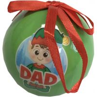 Dad Elf Ornament - Dad Gifts - Santa Shop Gifts