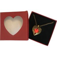 Red Heart with Wings - Jewelry Gifts - Santa Shop Gifts