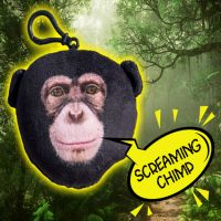 Talking Chimp Clip-on - Gifts For Boys & Girls - Santa Shop Gifts